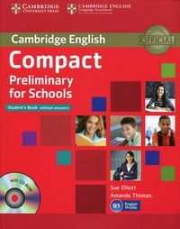 compact preliminary for schools sb without answers with cd-rom - ISBN: 9781107694095