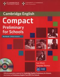 compact preliminary for schools wb without answers with audio cd - ISBN: 9781107635395