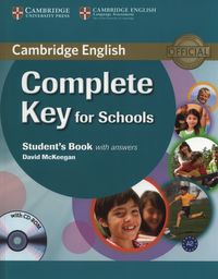 complete key for schools students book with answers  cd - ISBN: 9780521124713