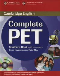 complete pet students book without answers with cd-rom - ISBN: 9780521746489