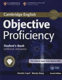 objective proficiency 2nd edition students book without answers - ISBN: 9781107611160