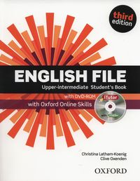 english file third edition upper-intermediate students book with itutor and online skills - ISBN: 9780194558754