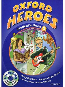 oxford heroes 3 students book - ISBN: 9780194806022