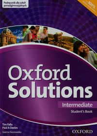 oxford solutions intermediate podręcznik 2015 - ISBN: 9780194502764