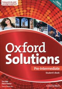 Oxford Solutions Pre-Intermediate Podręcznik 2015