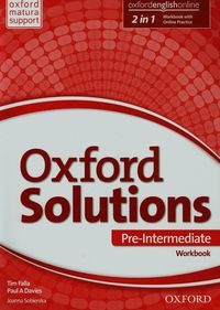 oxford solutions pre-intermediate workbook with online practice pack 2015 - ISBN: 9780194514705
