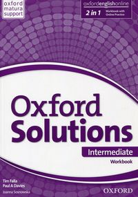 Oxford Solutions Intermediate Workbook with Online Practice Pack 2015