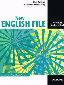 new english file advanced students book - ISBN: 9780194594585
