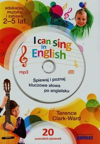 i can sing in english  cd - ISBNx: 9788375615630