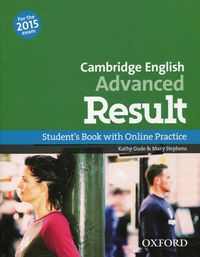 cambridge english advanced result students book and online practice pack pack - ISBN: 9780194512497