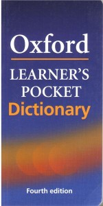 oxford learners pocket dictionary 4e - ISBN: 9780194398725