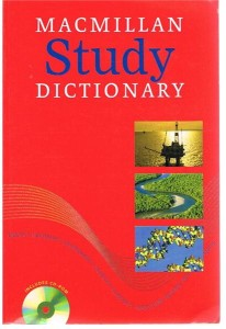 macmillan study dictionary - ISBN: 9780230401969