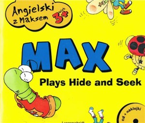 angielski z maksem max plays hide and seek - ISBNx: 9788374767279