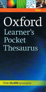 oxford learners pocket thesaurus - ISBN: 9780194752046