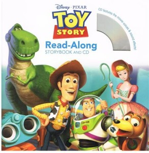 toy story read-along - ISBNx: 9781423133490