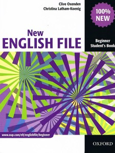 new english file beginner students book - ISBN: 9780194518697