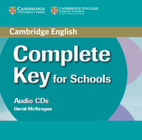 complete key for schools class audio cds 2 - ISBN: 9780521124751