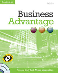 business advantage upper-intermediate personal study book  cd - ISBN: 9780521281300