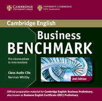 business benchmark 2 e pre-intermediate to intermediate bec and bulats cl cd - ISBN: 9781107611030