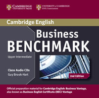 business benchmark 2ed class audio cds 2 bec upper intermediate - ISBN: 9781107633155