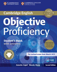 objective proficiency 2e students book pack with answers sb  cd-rom  audio cd - ISBN: 9781107633681