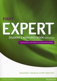 expert first third edition students resource book without key - ISBN: 9781447980636
