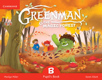 greenman and the magic forest b pupils book with stickers and pop-outs - ISBNx: 9788490368343