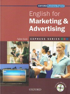english for marketing  advertising students book pack cd-rom express series - ISBN: 9780194579186