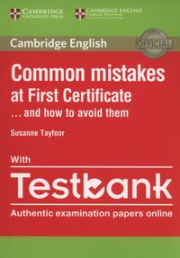 common mistakes at first certificate with testbank - ISBN: 9781316630129