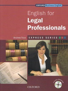english for legal professionals students book pack cd-rom express series - ISBN: 9780194579155