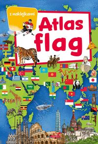 atlas flag z naklejkami - ISBN: 9788365458759