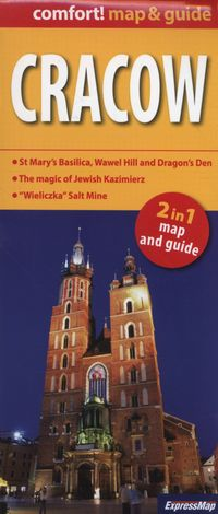 cracow comfort map guide - ISBN: 978838046192516
