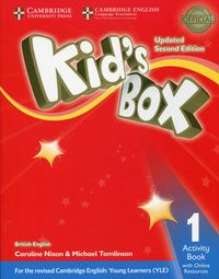 kids box 1 activity book with online resources - ISBNx: 9781316628744