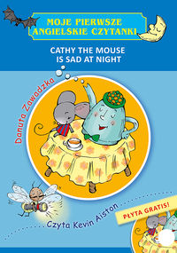 cathy the mouse is sad at night - ISBN: 9788379155200