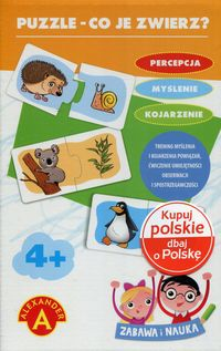 puzzle co je zwierz - ISBN: 5906018018301