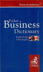 pocket business dictionary ang -pol  pol -ang - ISBN: 9788374831482