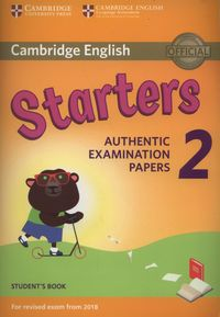 cambridge english starters 2 students book - ISBN: 9781316636237