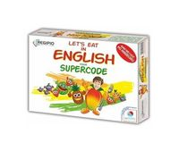 lets eat in english - your supercode - ISBNx: 5903111818449