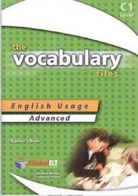 the vocabulary files advanced - ISBN: 9781904663461