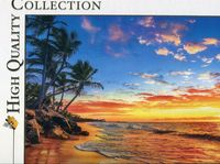 puzzle 500 high quality collection paradise beach - ISBN: 8005125350582