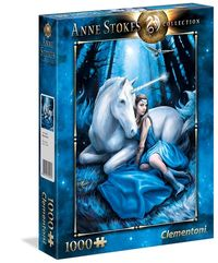 puzzle 1000 el anne stokes collection blue moon 39462 - ISBNx: 8005125394623