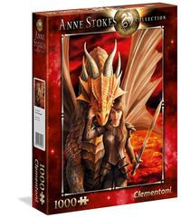 puzzle 1000 el anne stokes collection inner strength 39464 - ISBNx: 8005125394647