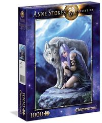 puzzle 1000 el  anne stokes collection protector 39465 - ISBNx: 8005125394654