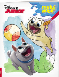 disney junior maluj wodą - ISBN: 9788325329693