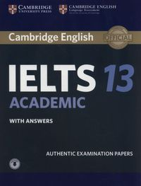 cambridge ielts 13 academic authentic examination papers with answers - ISBN: 9781108553094