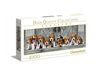 puzzle panorama high quality collection beagles 1000 - ISBN: 8005125394357