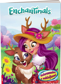 enchantimals kolorowanka z naklejkami - ISBN: 9788325330125