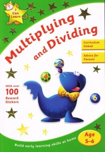 multiplying and dividing age 5-6 - ISBNx: 9781405240093