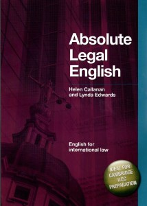 absolute legal english książka  płyta cd  autor helen callanan lynda edwards - ISBN: 9781905085514