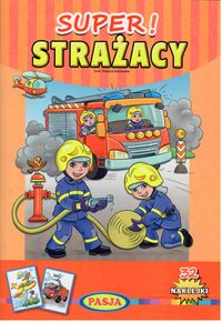 super strażacy - ISBN: 9788366085275